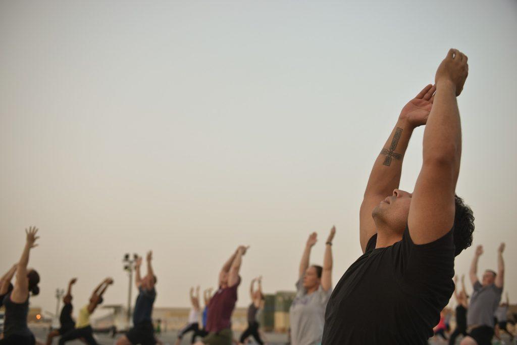 outdoor yoga minneapolis
